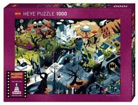 Heye Puzzles - Movie Masters, 1000 Piece Jigsaw  - Tim Burton Films 	 HY29882
