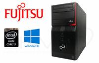 Fujitsu Esprimo P420 E85+ i5-4440 3,1GHz 4GB RAM 1TB HDD DVD-RW USB 3 Win10 Pro