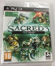 jeu SACRED 3 first edition Playstation 3 PS3 francais game spiel juego NEUF new