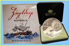 """2011 """"Made to Oder"""" The Zuytdorp Shipwreck $1 Fine Silver Proof Coin"""