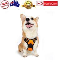 Pet Harness Front Range No Pull Dog Vest Adjustable Outdoor MEDIUM Orange New