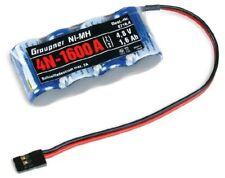 Empfängerakku 4n-1600 NiMH Jr 2/3a Graupner 8716.4