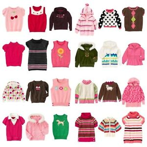 NWT Gymboree Kids Girl Cardigan Top Hoodie Sweater Vest Ship Fast