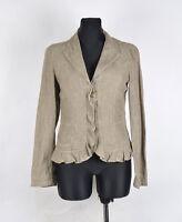 Max Mara Weekend Women Linen Jacket Blazer Size EU-40,UK-8, Genuine