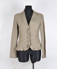 MAX MARA WEEKEND DONNA LINO blazer giacca taglia eu-40, UK 8, ORIGINALE