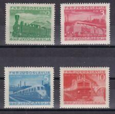 Jugoslawien 1949 postfrisch MiNr. 583-586