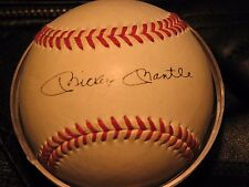 SUPERSTAR MICKEY MANTLE Signed With Ink Pen, Guaranteed Authenic Major legue