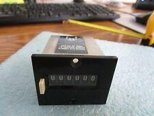 Kessler-Ellis: Model:  MK16-24 Counter.  6 Digit.  Unused Old Stock<
