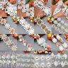 1 yard Vintage Pearl Rose Flower Lace Trim Wedding Ribbon Applique Sewing Craft
