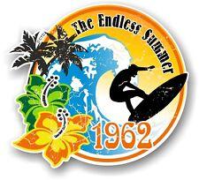 Aged Rétro planche de surf surf Endless Summer 1962 Voiture Caravane Autocollant Decal
