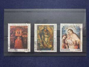 ECUADOR, 1967 - 4° Congresso Eucaristico - Usato con gomma/Used with gum - NH