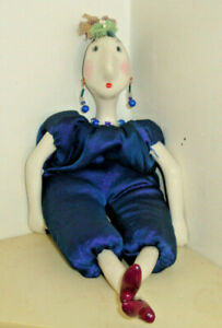 ADULT COLLECTOR'S DOLL, PORCELAIN -NOT A TOY