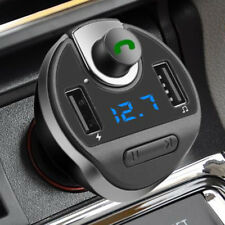HANDS-FREE BLUETOOTH MP3 PLAYER DUAL USB PORT CIGARETTE LIGHTER CAR CHARGER Fine