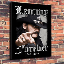 """Lemmy Forever Printed Box Canvas Picture A1.30""""x20"""" x 30mm Deep Rock Motorhead"""