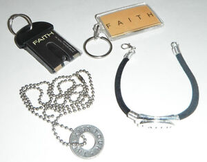 FAITH HILL concert collection THIS KISS Necklace bracelett keychains LOT