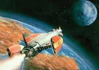 Fireball XL5 Great New Colour Art Poster