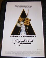 A Clockwork Orange Kubrick McDowell 11X17 Movie Poster