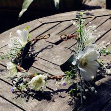 Flower Wedding Garland Handmade Headdress Bridal Hair Accessories Headwear Tiara