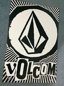 VOLCOM  POSTER PRINT 17 inches x 26 inches  SKATE SURF SNOW