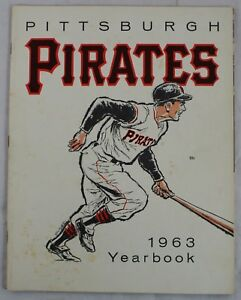 Pittsburgh Pirates 1963 Vintage Original Team Yearbook Baseball Program