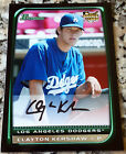 CLAYTON KERSHAW 2008 Bowman Rookie Card RC Los Angeles Dodgers HOT No Hitter ERA