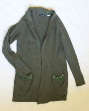 River Woods Cardigan Strick Jacke in grün Größe M mit Perlen
