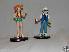 NEW OUT OF PACKAGE MISTY AND ASH FIGURES POCKET MONSTERS AULDEY
