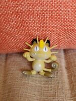 Pokemon TOMY MEOWTH CAT FIGURE VINTAGE MID 1990'S C-G-T-S-J 1 1/2""
