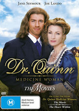 DR QUINN MEDICINE WOMAN The Movie + Heart Within (Region 4) DVD Doctor Movies