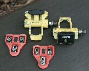 Look 1st Generation Clipless Pedals w/Cleats & Hardware