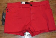 Rock & Republic Jean Shorts Red Denim Hula Short MSRP $54.00