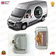 LH SIDE MIRROR INDICATOR / MARKER LIGHT FOR DUCATO, BOXER, RELAY, JUMPER 2006 ON