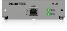 Klark Teknik KT-USB USB 2.0 Network Module, up to 48 Bidirectional Channels