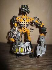 Lego 8730 Bionicle Voya Nui Inika Toa Hewkii Robot complet de 2006 -N5
