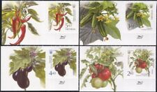 Ukraine 2016 Chilli Pepper/Tomato/Crops/Veget ables/Plant/Nature 4v + lbl n45105f