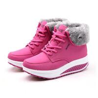 Zapatos De Mujer Invierno Botas Tapizado Cabello Nieve Botines