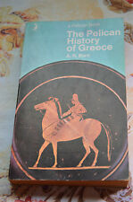 the pelican history of greece. p/back by a.r.burn reprinted 1971