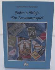 Martina Wolter-Kampmann, Faden & Brief, hb 1999 Lace-Making German