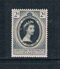 Solomon Is 1953 Coronation SG 81 MNH