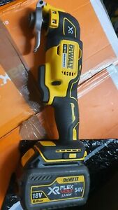 DEWALT XR 18V DCS355T1 MULTI TOOL KIT 1 X 6 AH 54v 18v Flex Battery ,no charger