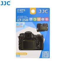 JJC LCD Display Guard Film Screen Protector Cover Case For NIKON D500 Camera PET
