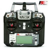 Flysky FS-i6X 10CH 2.4G RC Transmitter With iA6B Receiver f/RC Car Quadcopter US
