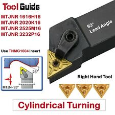MTJNR 16mm 20mm 25mm 32mm Shank Indexable Turning Lathe Tool Holder Cylindrical