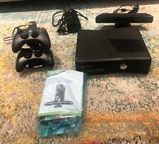 Xbox 360S Model 1439 250GB with Kinect, 2 Controllers, Power Cords Bundle