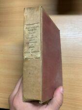 """Antique 1831 """" Quentin Durward II """" Vol Xxxii Sir Walter Scott Livre Relié"""