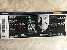 Ticket Phil Collins Köln 14.06.2017 Block 102