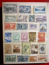 Griechische Briefmarken/MIX LOT der Klassiker/Hohe Werte klassische griechische ...