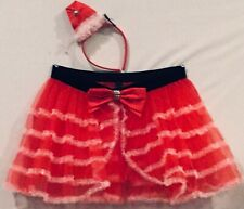 WOMEN'S VICTORIA'S SECRET CHRISTMAS SANTA BABY 2 PC COSTUME LINGERIE L/G LARGE