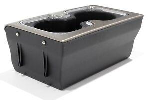 OEM NEW Center Console Cup Holder Burnish Chrome 15-16 Silverado Sierra 23467147
