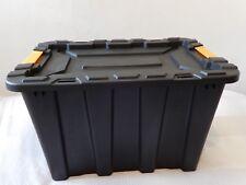 Plastic Heavy Duty Storage Box with Lid - 55L